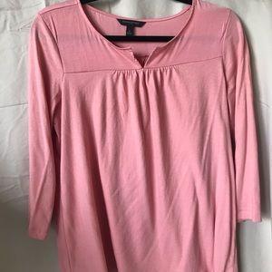 Pink Banana Republic shirt